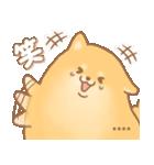 むっちりポメラニアン☆オレンジ☆カスタム(個別スタンプ:13)