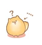 むっちりポメラニアン☆オレンジ☆カスタム(個別スタンプ:14)