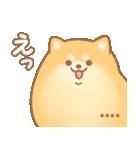 むっちりポメラニアン☆オレンジ☆カスタム(個別スタンプ:15)
