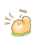 むっちりポメラニアン☆オレンジ☆カスタム(個別スタンプ:23)