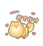 むっちりポメラニアン☆オレンジ☆カスタム(個別スタンプ:28)