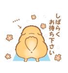 むっちりポメラニアン☆オレンジ☆カスタム(個別スタンプ:33)