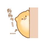 むっちりポメラニアン☆オレンジ☆カスタム(個別スタンプ:37)