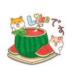 夏のハムギャング (日本語)(個別スタンプ:3)