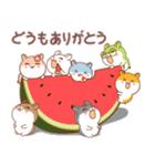 夏のハムギャング (日本語)(個別スタンプ:8)