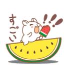 夏のハムギャング (日本語)(個別スタンプ:9)