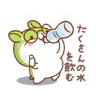 夏のハムギャング (日本語)(個別スタンプ:14)