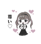 ♡推し・担当用 メンヘラ女子スタンプ♡(個別スタンプ:04)