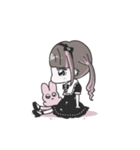 ♡推し・担当用 メンヘラ女子スタンプ♡(個別スタンプ:32)