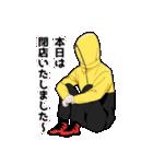 無口男子3(個別スタンプ:39)