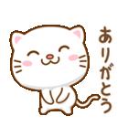 マニ白猫は2色の目をしています(個別スタンプ:3)