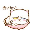 マニ白猫は2色の目をしています(個別スタンプ:38)