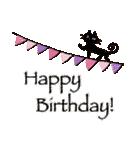 ほのぼの、大人かわいい お誕生日スタンプ(個別スタンプ:31)
