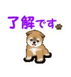 よちよち秋田犬 毎日優しいスタンプ(個別スタンプ:9)