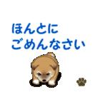 よちよち秋田犬 毎日優しいスタンプ(個別スタンプ:20)