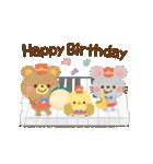 大人かわいい絵本風★誕生日&お祝い(個別スタンプ:03)