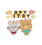 大人かわいい絵本風★誕生日&お祝い(個別スタンプ:09)