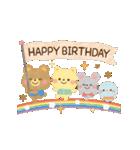 大人かわいい絵本風★誕生日&お祝い(個別スタンプ:12)