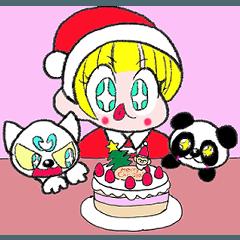 ティアラとムンムン(クリスマス)