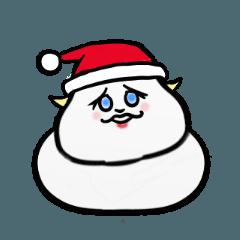 つんつん つぶおちゃん 楽しいクリスマス
