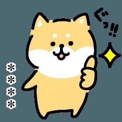 ゆる柴犬スタンプ・カスタム