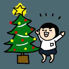 おかっぱブルマちゃん【冬の日常】