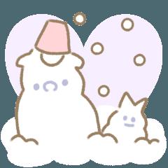 パグのももふく&くろごま♡冬スペシャル