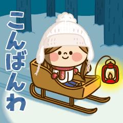 動く!かわいい主婦の1日【冬編2】