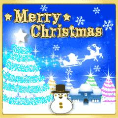 光のクリスマス☆年末年始☆動く