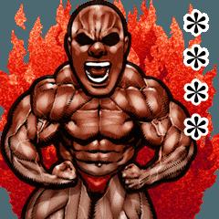 筋肉マッチョカスタムスタンプ 2