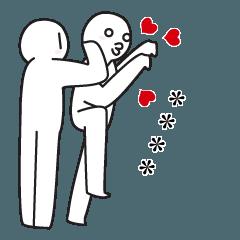 [LINEスタンプ] 愛してる。恋してる。ラブカスタム♥5
