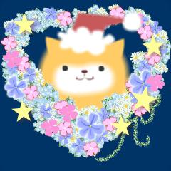 [LINEスタンプ] ポメラニアン犬 冬のごあいさつ