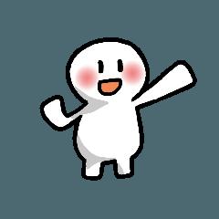 シンプルで白くて丸い人 続編