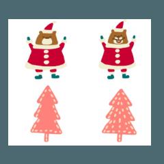 メリークリスマスサンタ