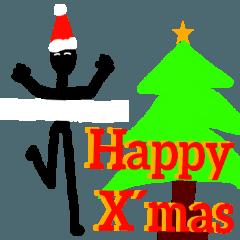 [クリスマスVer]陸上競技で挨拶