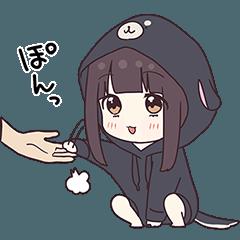くるみちゃん。10(犬パーカー)