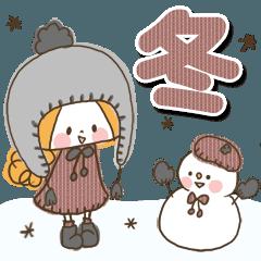 かわいい!ガーリースタンプー冬のイベント