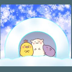 バオバブの丘【冬に使えるシリーズ】