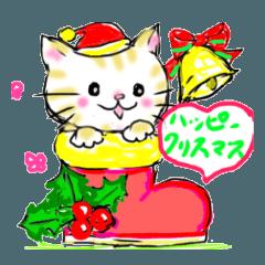 プリティ猫(クリスマス&お正月編)