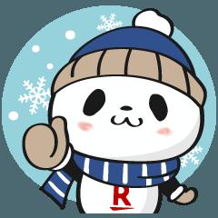 お買いものパンダ 冬のほっこり編