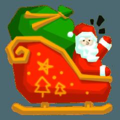 クリスマスステッカー!