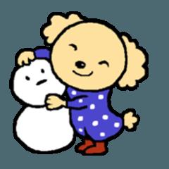 トイプマロンの冬