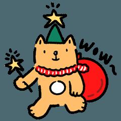 スローネコのクリスマス!