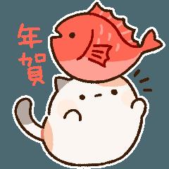 ずんどうネコ(年末年始&年賀ver.)