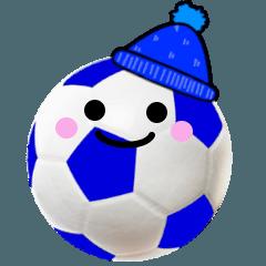 サッカー さん 冬バージョン