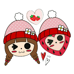 ラブリーいちごちゃん♥《X'mas・お正月》