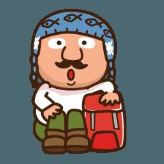 山登りハンサムマンNO.3