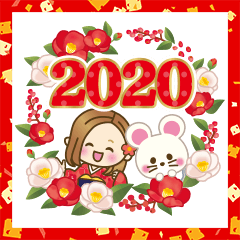2020年大人女子の日常【お正月〜春】
