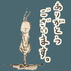 ゆるふわ昆虫図図鑑(ふわスタンプ)