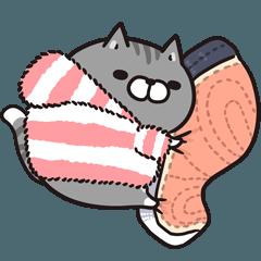 ボンレス猫 in うぃんた~